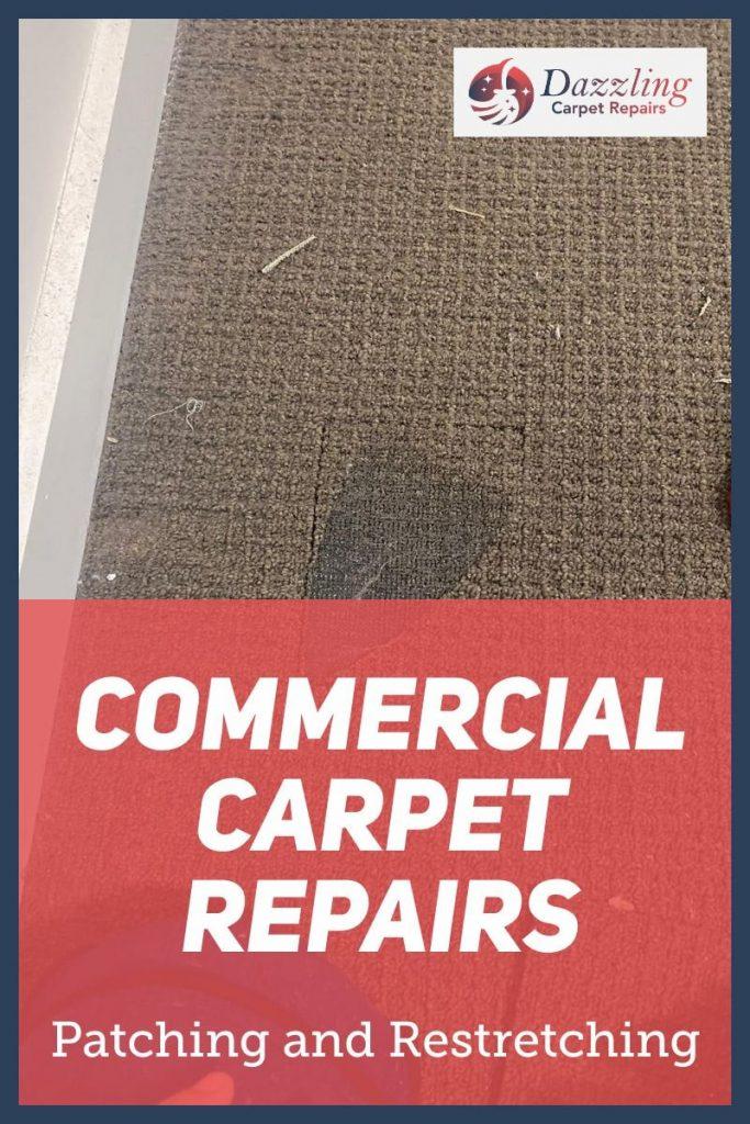 Local commercial carpet repair services